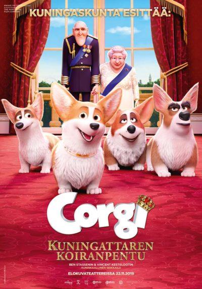 Corgi – Kuningattaren koiranpentu