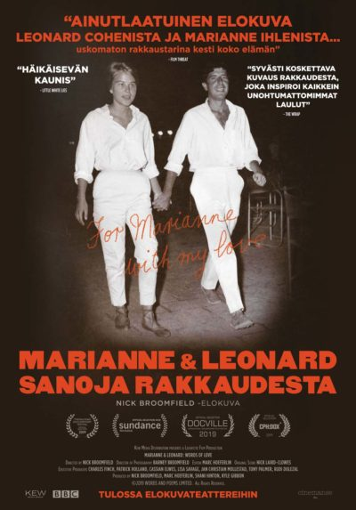 Marianne & Leonard – Sanoja rakkaudesta